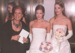 DS, Victoria and Vanessa, at the Infirmary Ball, NYC
