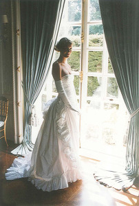Vanessa in her coming out gown