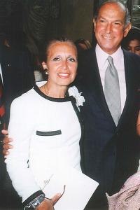 DS with Oscar de la Renta